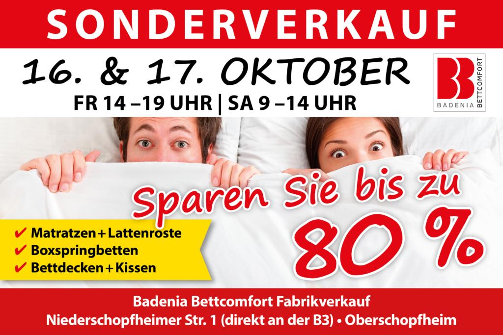 Sonderverkauf Badenia Bettcomfort